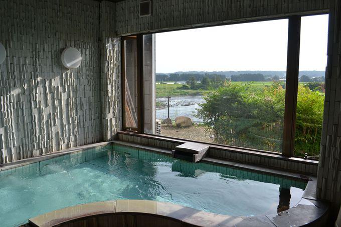 適温の内湯と交互に入浴するのがおすすめ