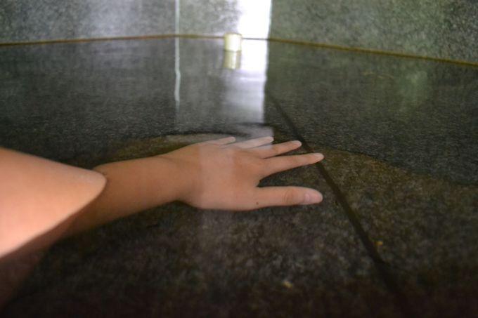 手足の部分浴で楽しむ超冷炭酸泉