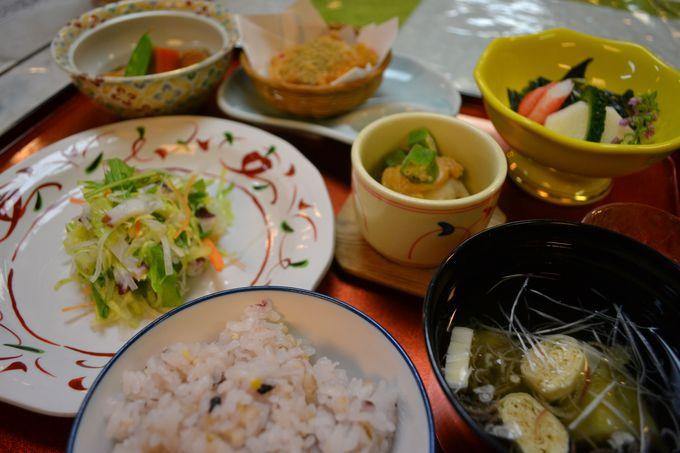野菜中心の健康食で身体の内側からもサポート