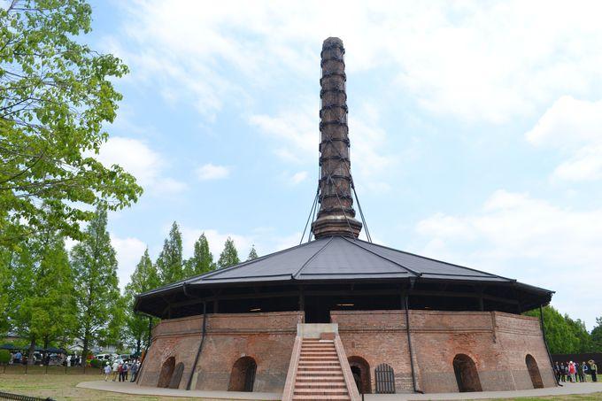 明治時代に造られた日本最古の煉瓦窯