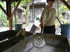 温泉から採れる幻の塩!?長野・鹿塩温泉「山塩館」で山塩料理を堪能