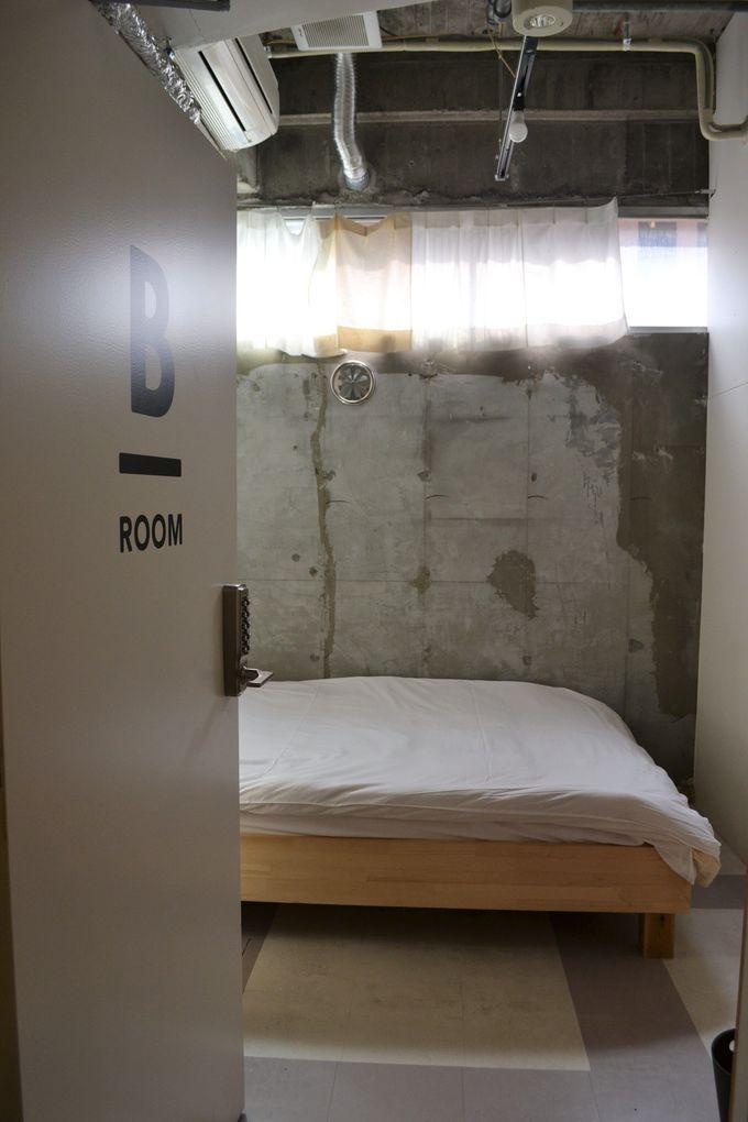 ひとり利用も可能な個室も