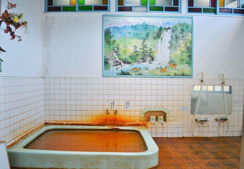 トマトジュース色の温泉!?北茨城「鹿の湯松屋」の濃厚赤湯が凄い