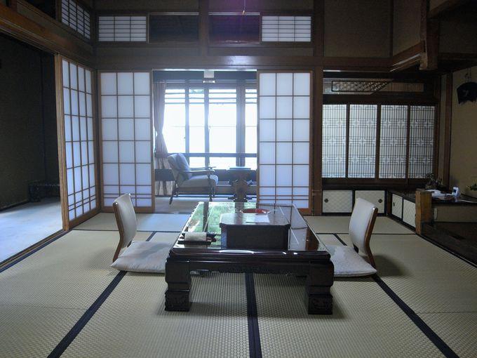 宿は昭和初期に建てられた文化財!