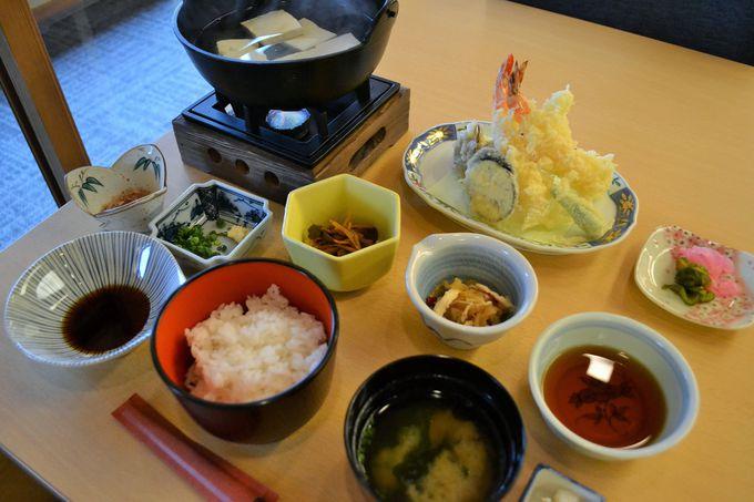 箱根の名水を使った豆腐料理で体の中からキレイに