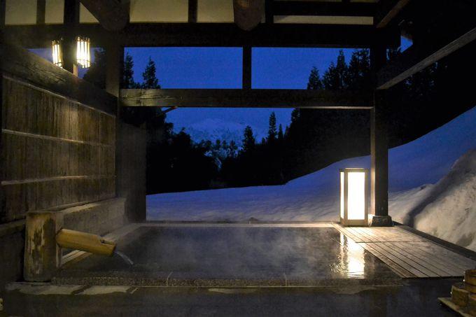 トロトロ美肌湯と絶景が待つ露天風呂