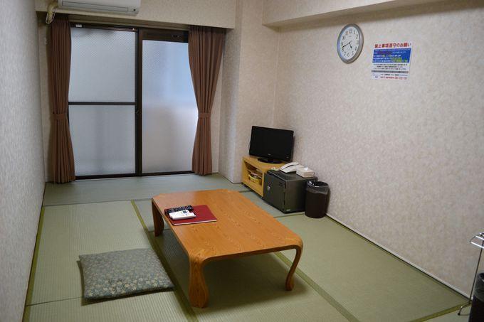 暮らすように泊まる、マンションタイプの客室