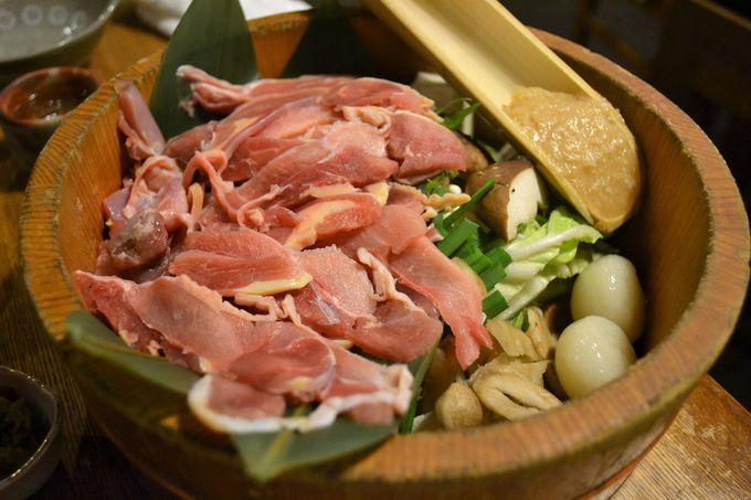 雑炊でスープを飲み干したい地鶏鍋