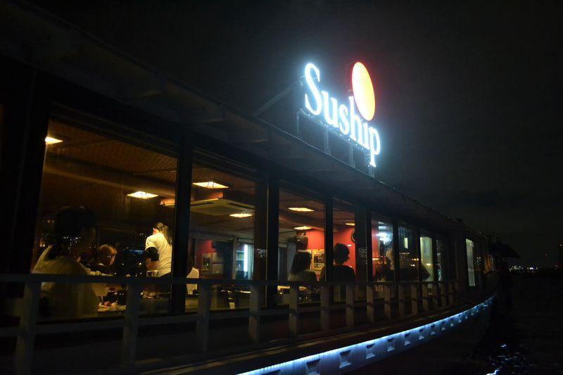 お台場の水上レストラン「Suship」海の上で極上寿司を喰らう!?