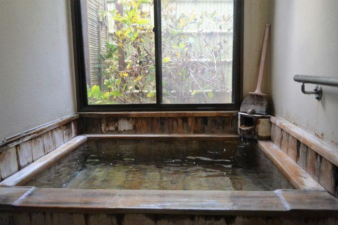 異なる源泉を使った貸し切り風呂は何度でも無料