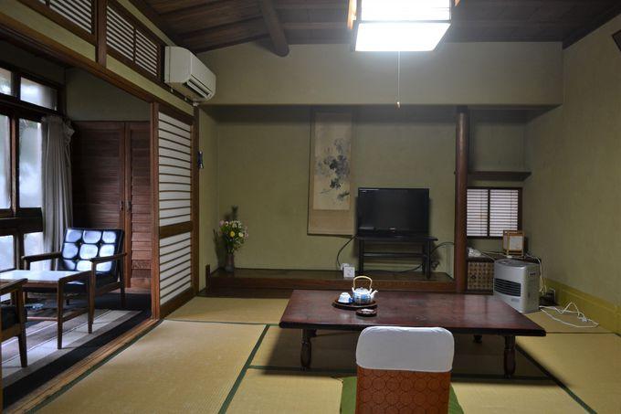 ひなびた風情に浸る「東和楼」の客室