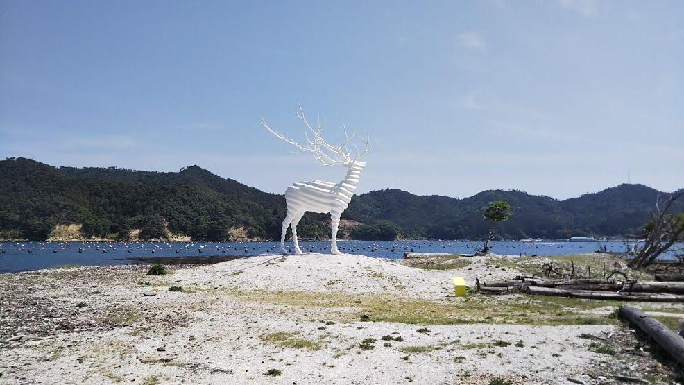 「FUTABA INN」を拠点にアートと復興のまちを旅する