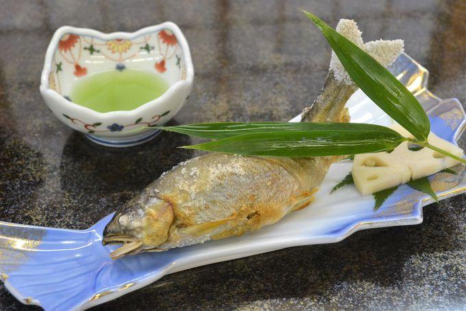 一流料亭出身の料理長が考案する栃木名産を活かす会席料理