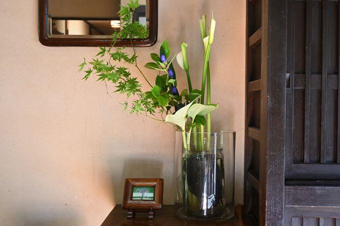 「野の花香る民芸の宿」テーマ通りの素敵な館内