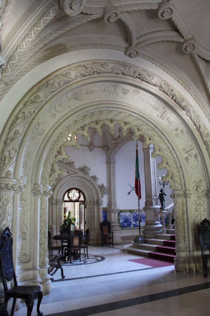ネオ・マヌエル様式の美しい宮殿