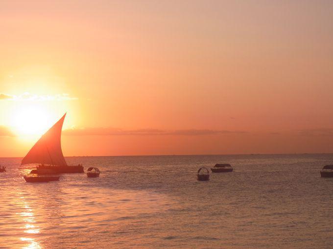 帆船とインド洋での海洋貿易の歴史に思いを馳せる