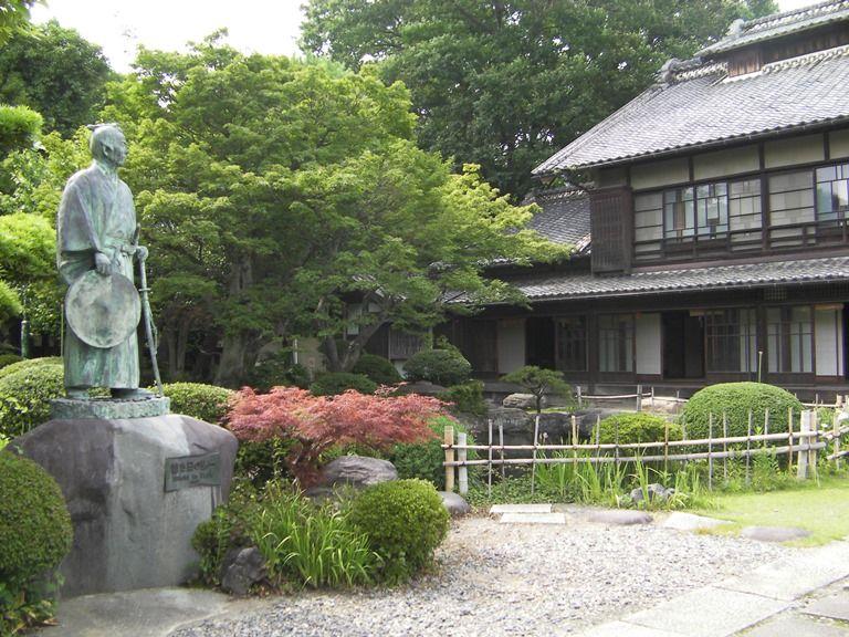 渋沢栄一の生まれた家