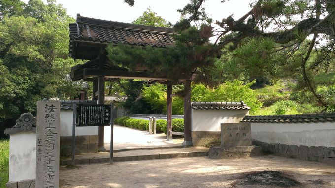 松平郷の奥にある菩提寺にお参りしよう