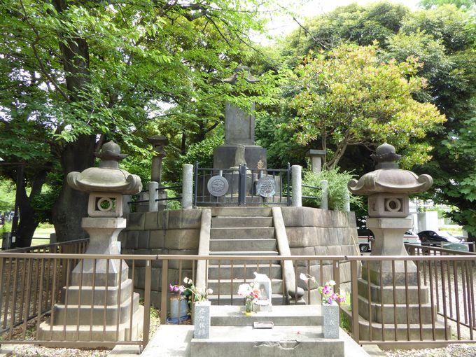 上野戦争で散った「彰義隊」の墓