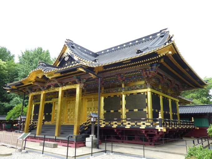 徳川家康を祀る「上野東照宮」