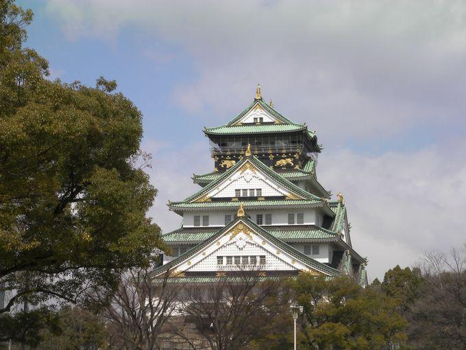 まずは大阪城