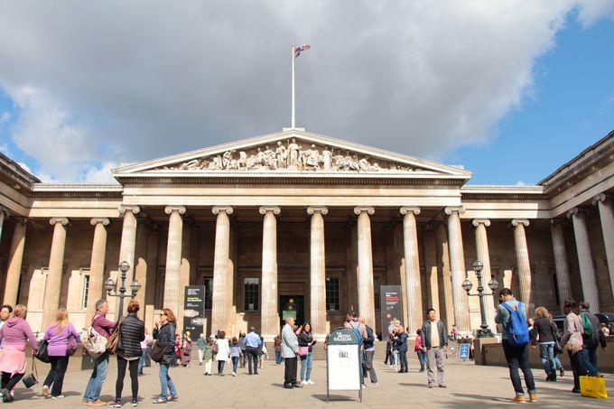 なんと入場は無料!大英博物館