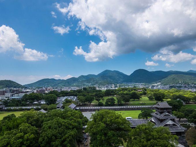 熊本市内を一望!天守閣からの大パノラマ