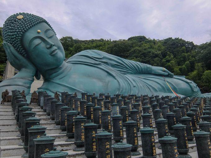 南蔵院と言えばやっぱりこれ!世界一の大きさを誇る涅槃像