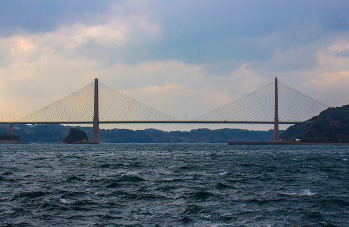 大迫力の呼子大橋