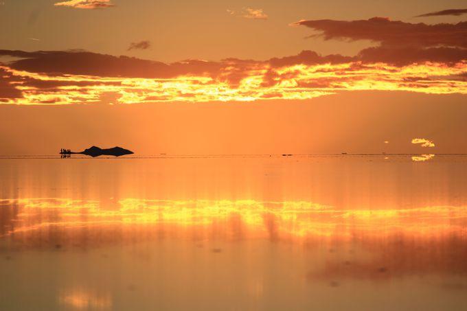 夜のウユニ塩湖を楽しむ!