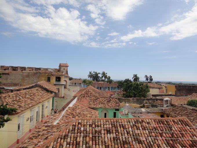 屋上からの景色が絶景!「市立歴史博物館」