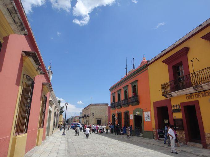 イエルベ・エル・アグアの観光拠点となる「オアハカ」