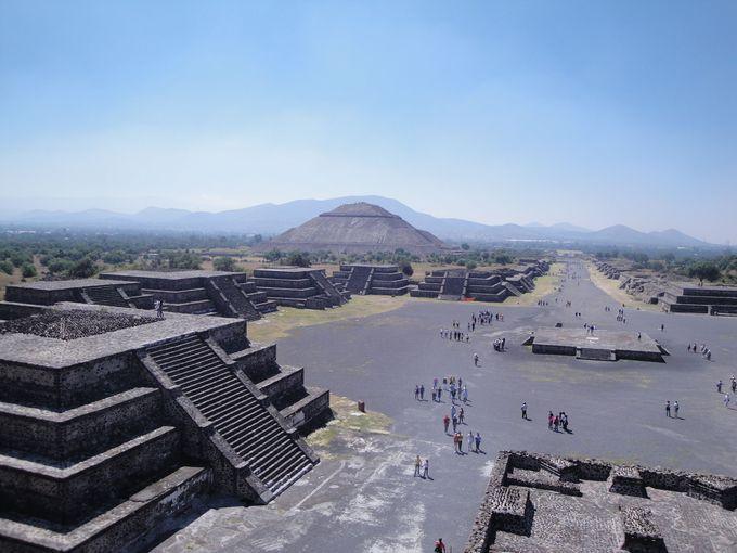 メキシコシティに来たらあわせて行きたい「テオティワカン遺跡」
