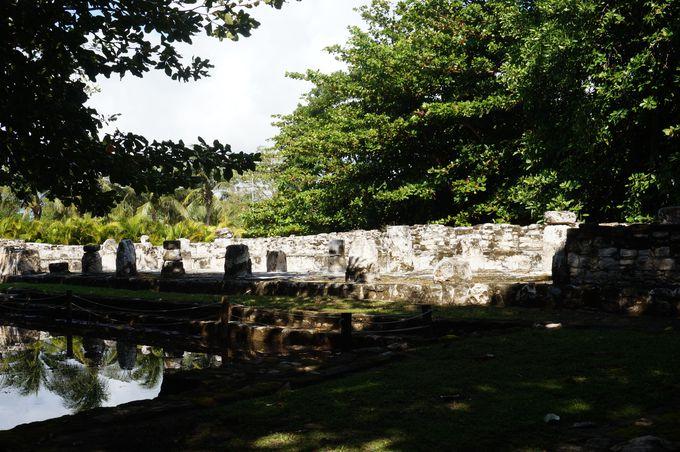 博物館の裏に眠る「サン・ミゲリート遺跡」を体験!