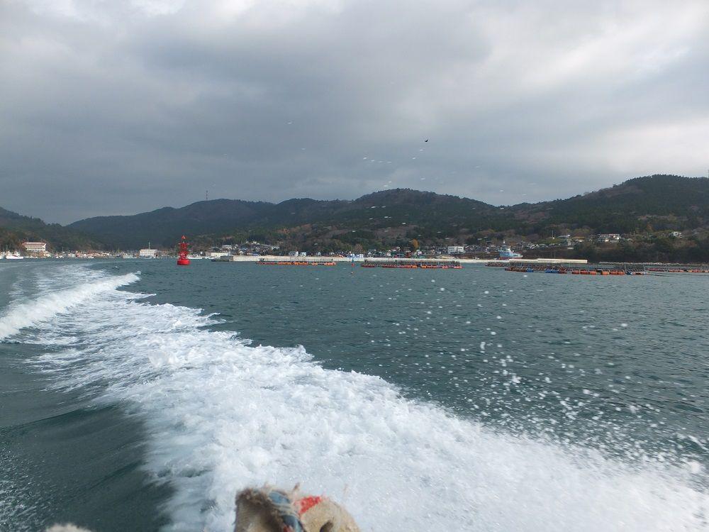 モーターボートで三陸の波濤を乗り越え金華山へ!