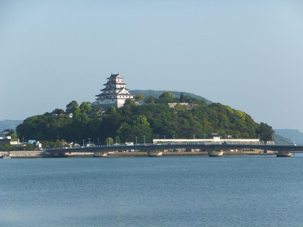 唐津城は全国屈指の海城!