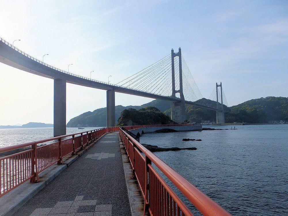 「新さが百景」第一位!弁天さまから呼子大橋を仰ぐ