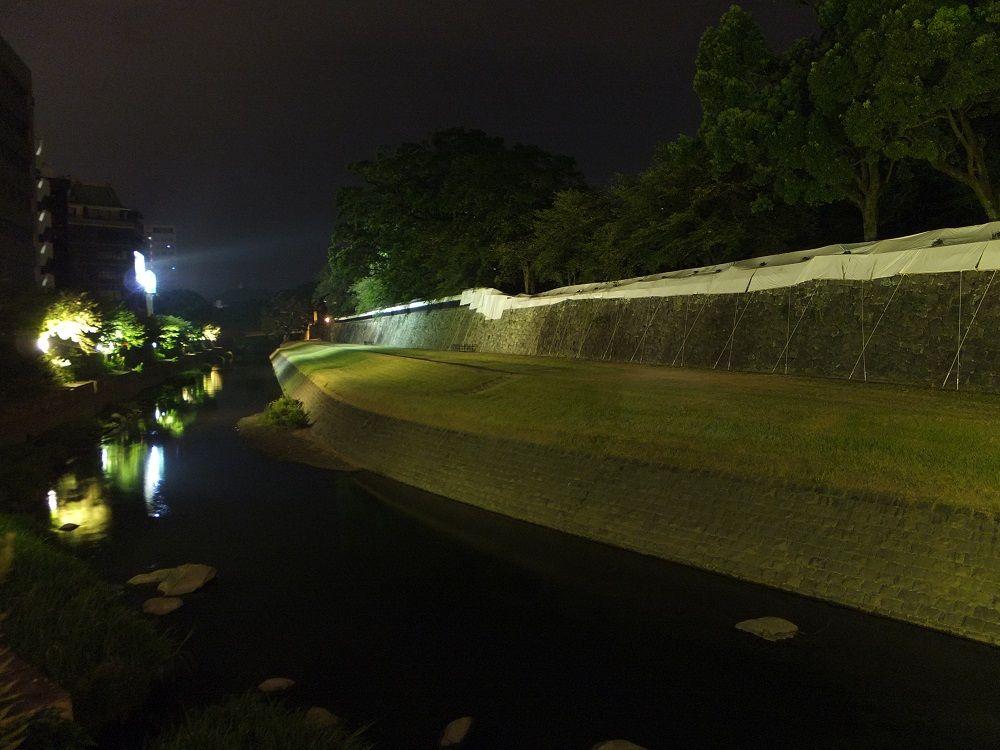 ライトアップ再開!熊本城復興への「希望の灯」に