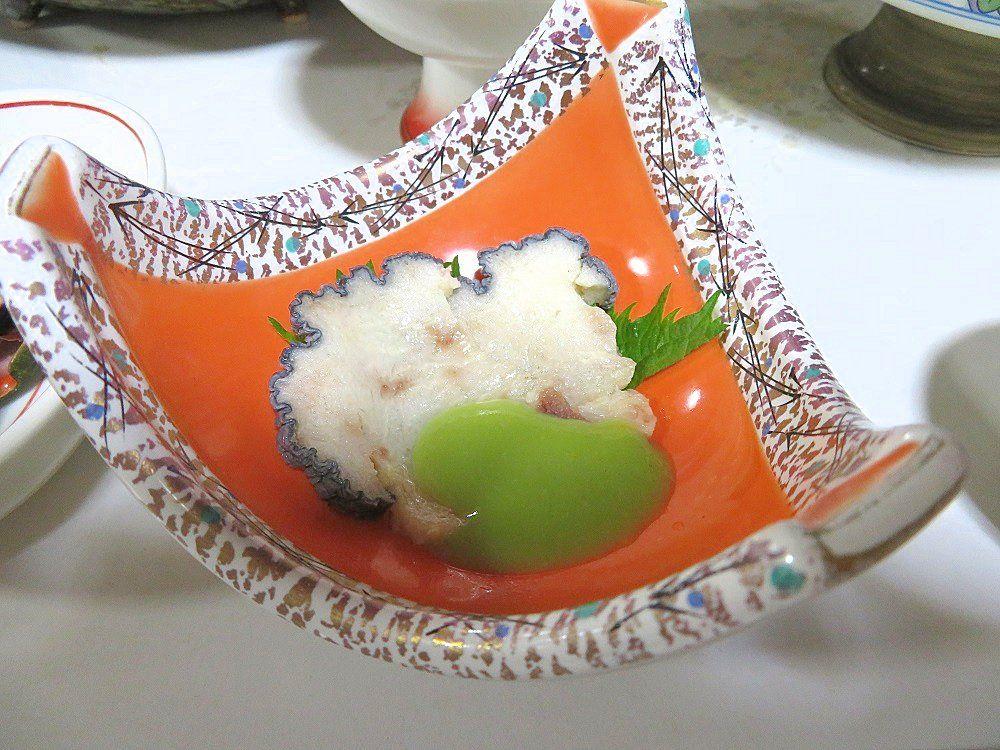 室戸の珍味が続々登場の夕食に舌鼓!