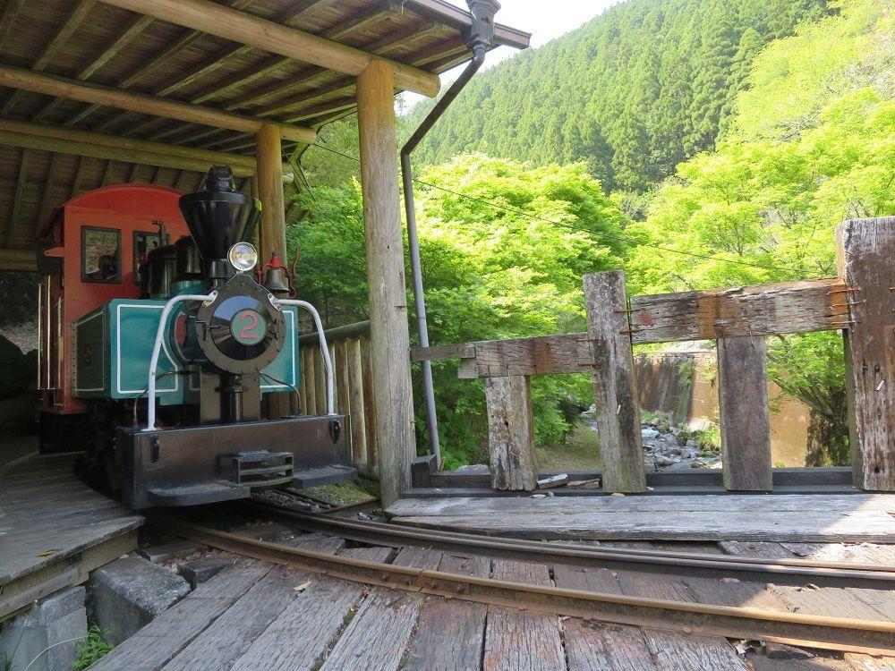 馬路村の繁栄を偲ぶ!復活の馬路森林鉄道