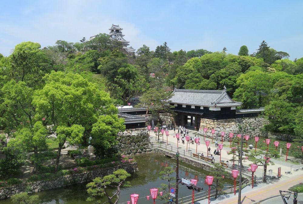 2017年に開館!高知城歴史博物館からの眺めは抜群