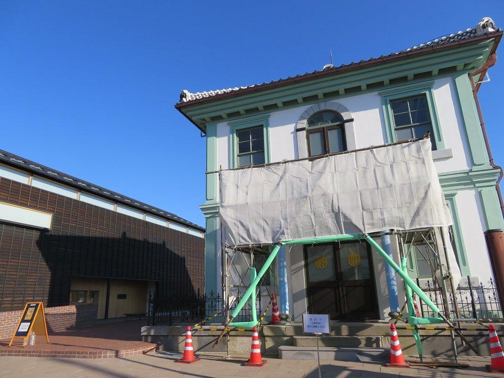 城下にはレトロな建築も残る!県重文・旧沼田貯蓄銀行