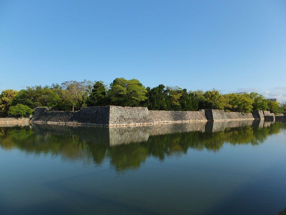 石垣に垣間見る!広島城の奥深い歴史
