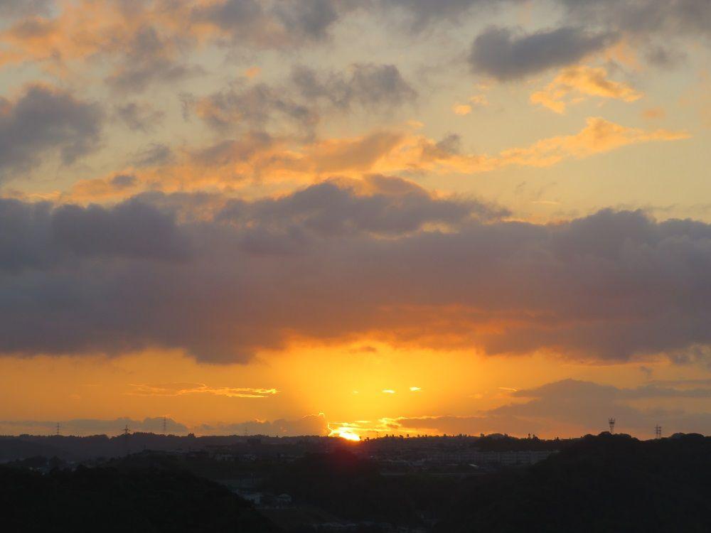 駅直結!観覧車「アミュラン」から眺める夕日