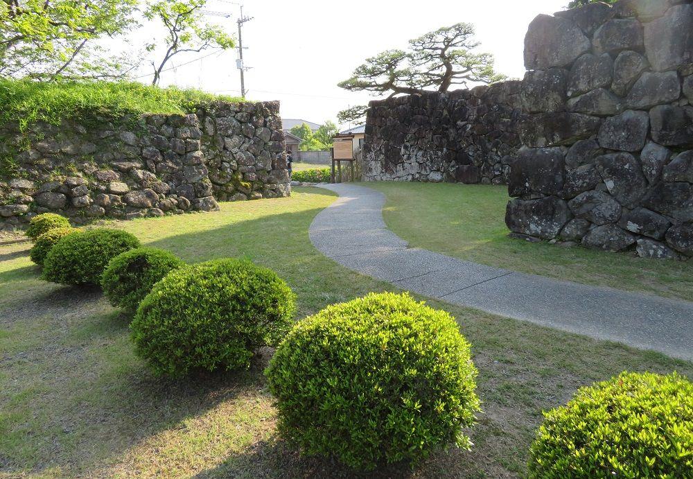 一国一城令対策!「安芸土居」と呼ばれた五藤氏の居館跡