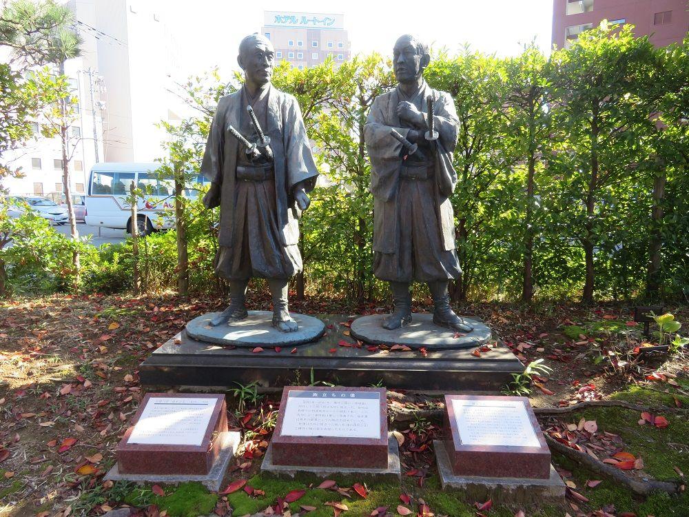 福井の町中に残る遺構やゆかりの人物も巡ろう!