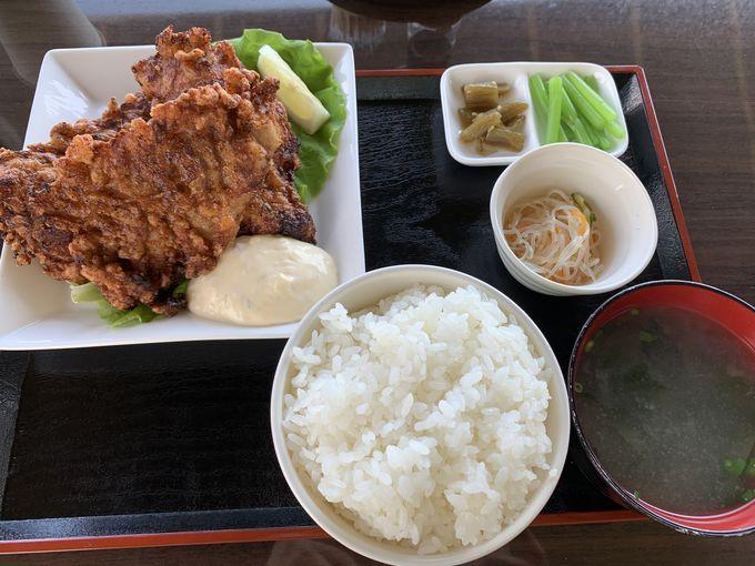 超絶食い応えあり!レストハウス竜飛 寿恵盛屋の鮪唐揚定食