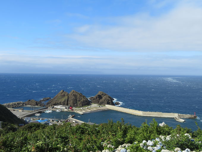 津軽半島最北端!龍飛崎へ到達