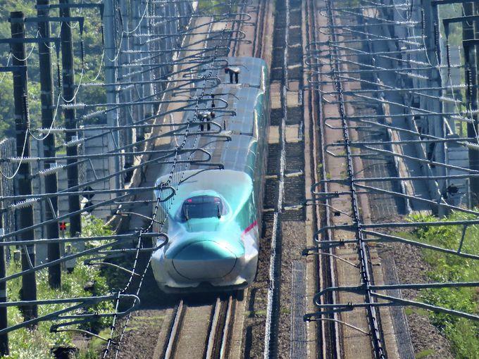 かわゆい眺め!北海道新幹線ビュースポット