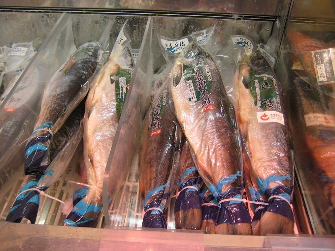 こだわりの「天然の鮭」